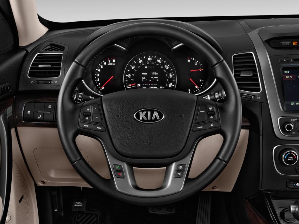 image 2014 kia sorento 2wd 4 door v6 ex steering wheel size 1024 x 768 type gif posted on. Black Bedroom Furniture Sets. Home Design Ideas