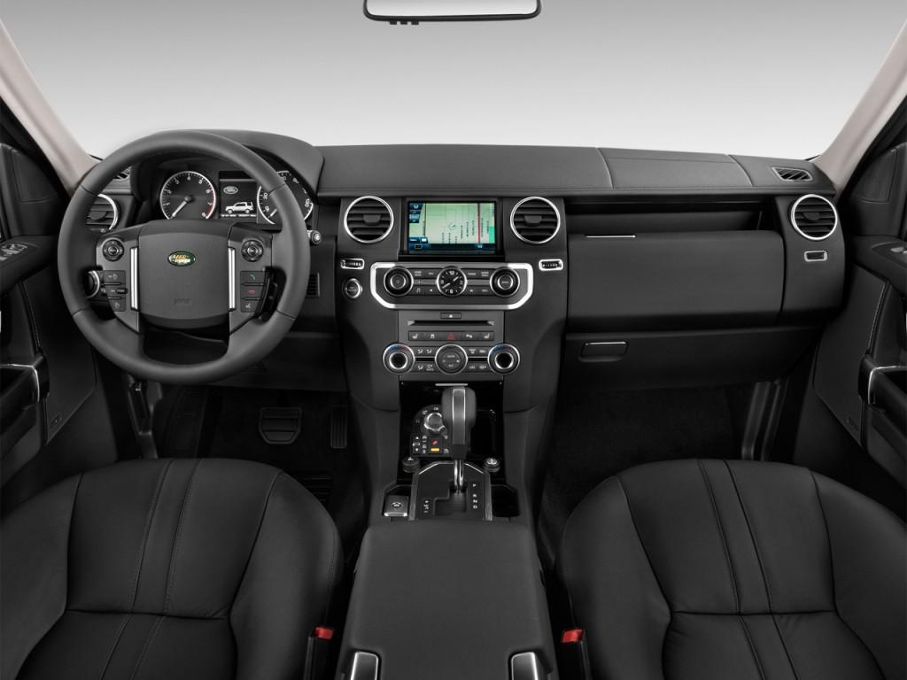 Image: 2014 Land Rover LR4 4WD 4-door Dashboard, size ...