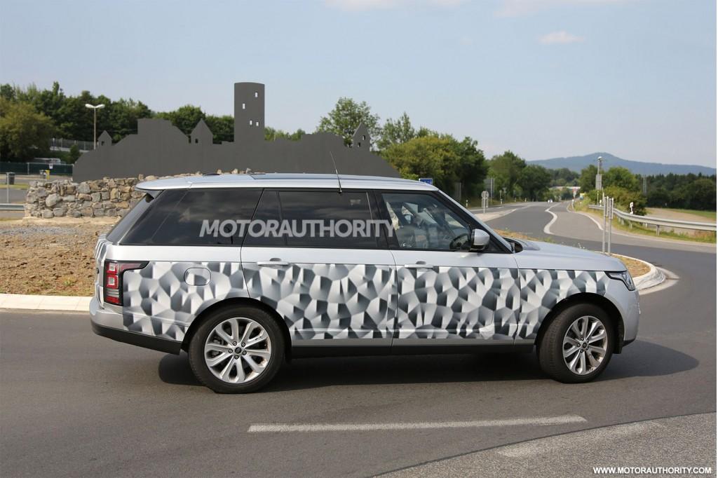 2014 Land Rover Range Rover long-wheelbase model spy shots