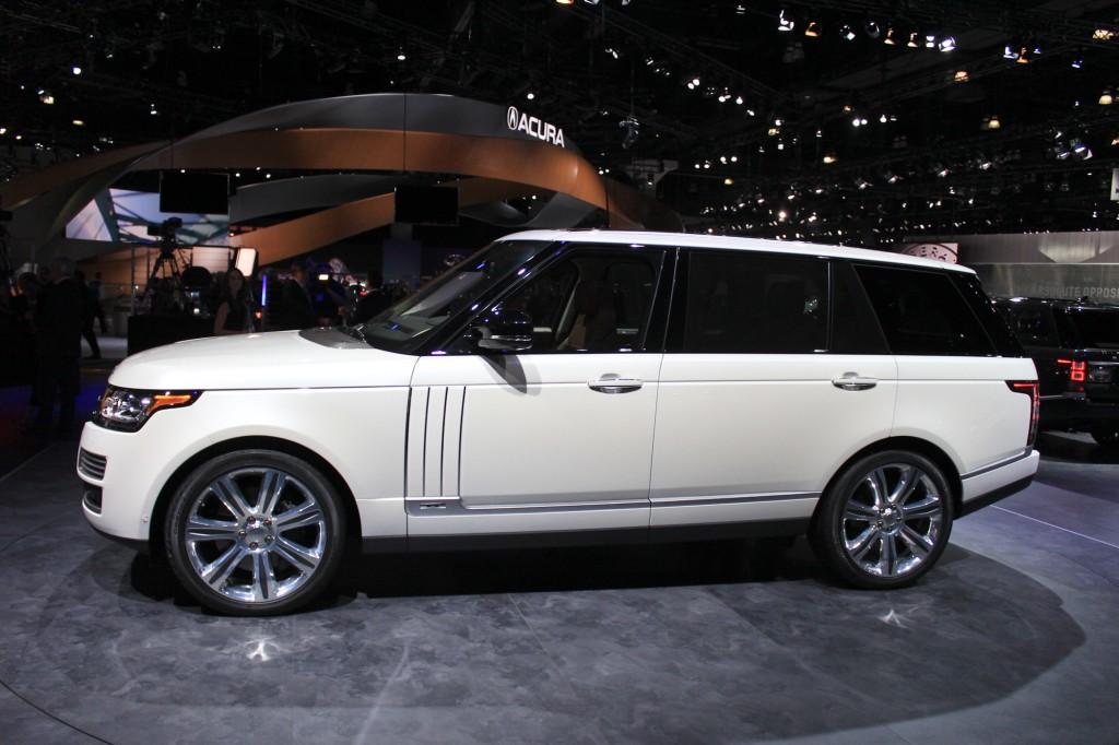 Image: 2014 Land Rover Range Rover Long-Wheelbase ...