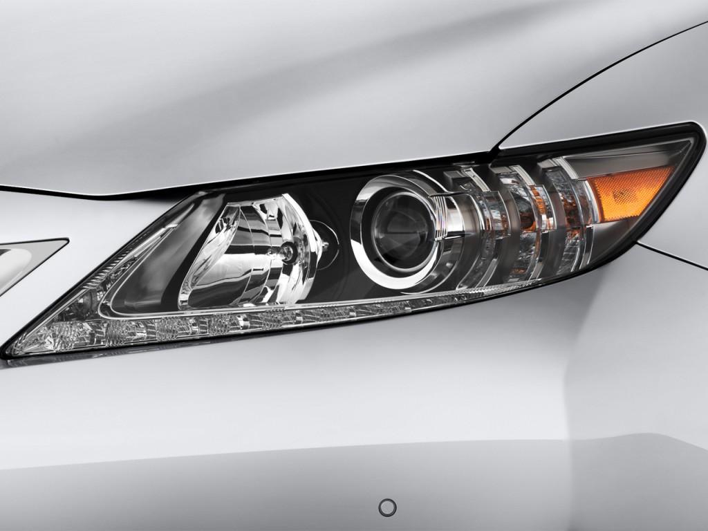 Image: 2014 Lexus ES 350 4-door Sedan Headlight, size ...