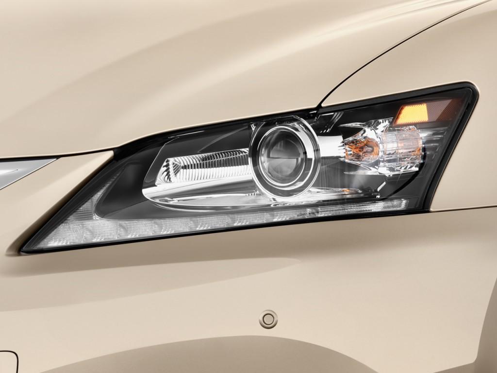 Image: 2014 Lexus GS 350 4-door Sedan RWD Headlight, size ...