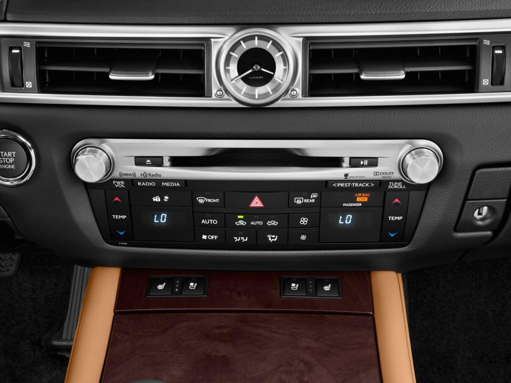 Image: 2014 Lexus GS 350 4-door Sedan RWD Temperature Controls, size: 1024 x 768, type: gif ...