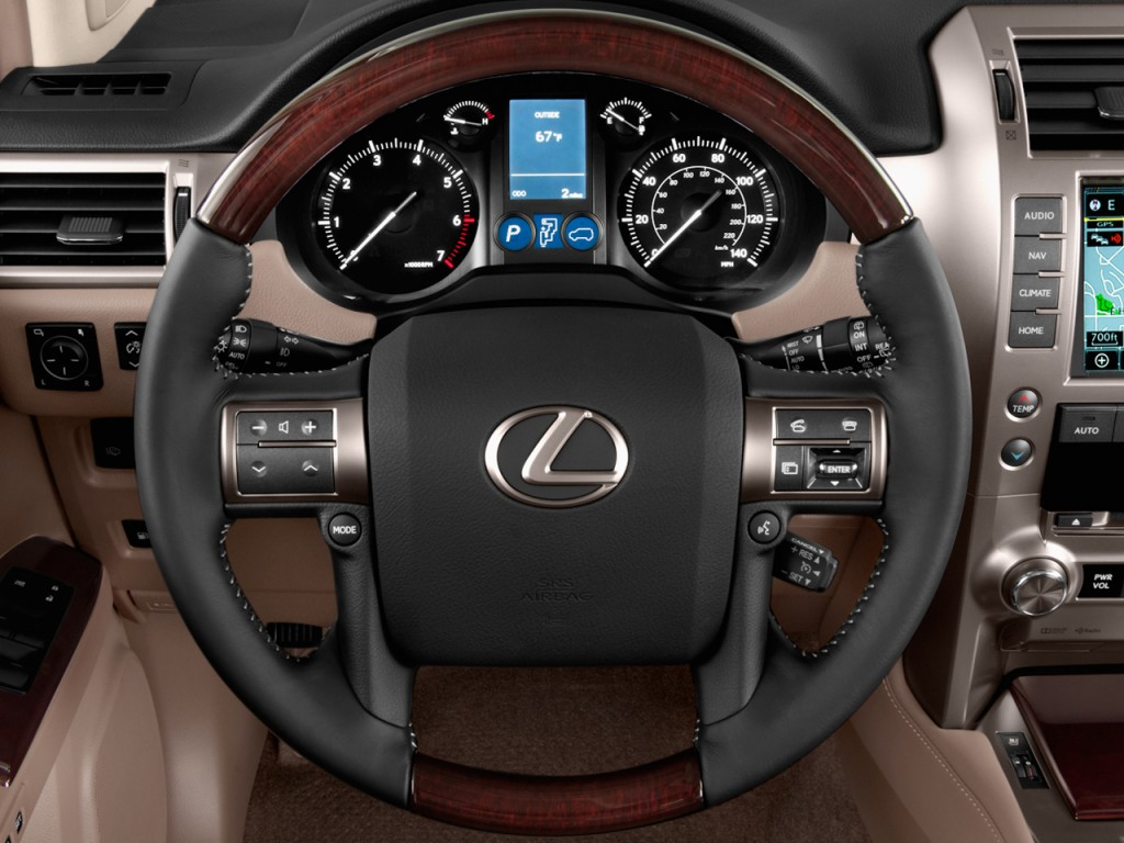 Image: 2014 Lexus GX 460 4WD 4-door Steering Wheel, size ...