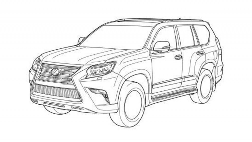 image  2014 lexus gx 460 alleged patent drawing