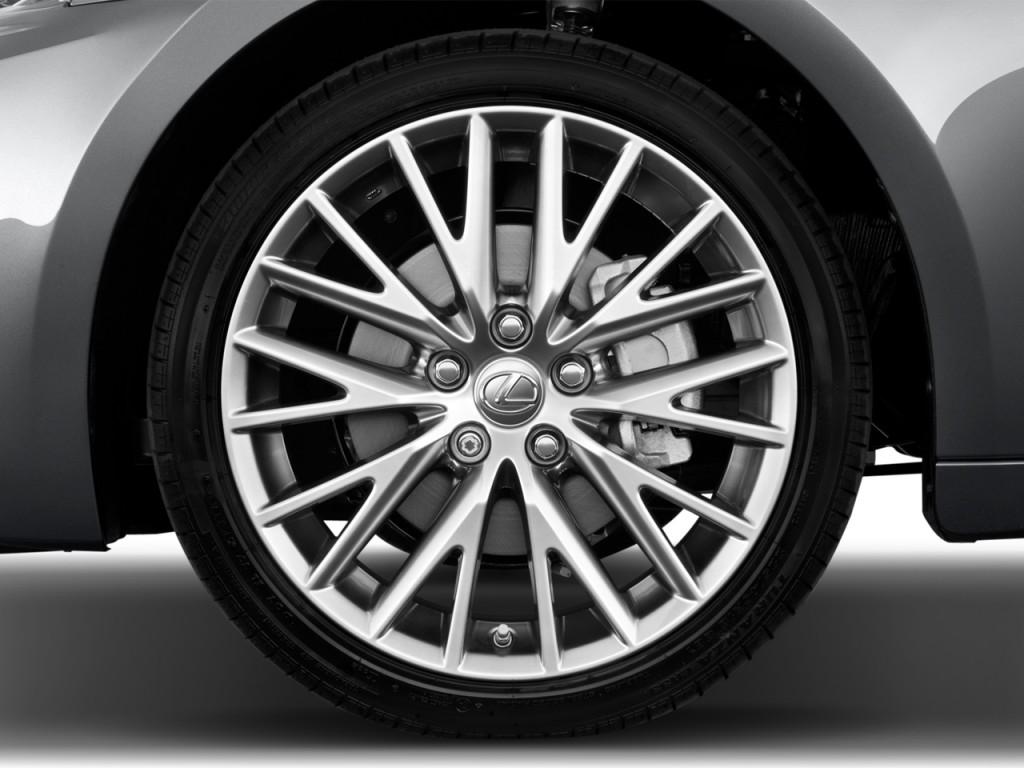 2014 Lexus IS 250 4-door Sport Sedan Auto RWD Wheel Cap