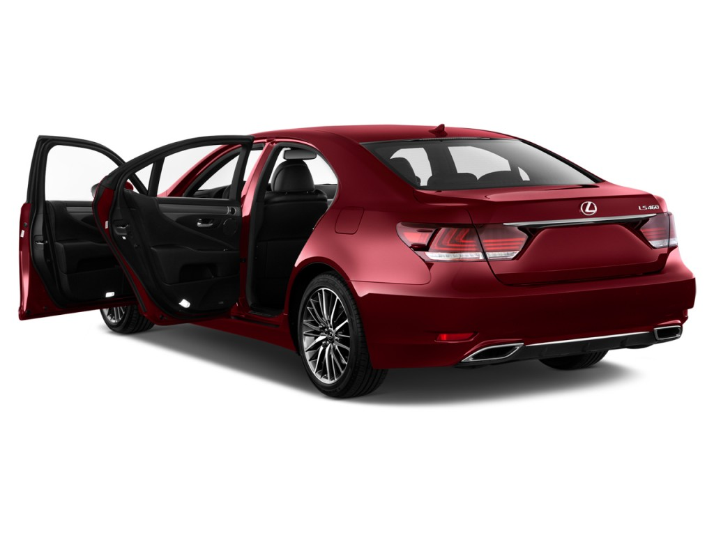 image 2014 lexus ls 460 4 door sedan rwd open doors size. Black Bedroom Furniture Sets. Home Design Ideas