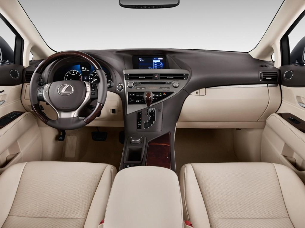 2014 lexus rx 350 fwd 4 door dashboard