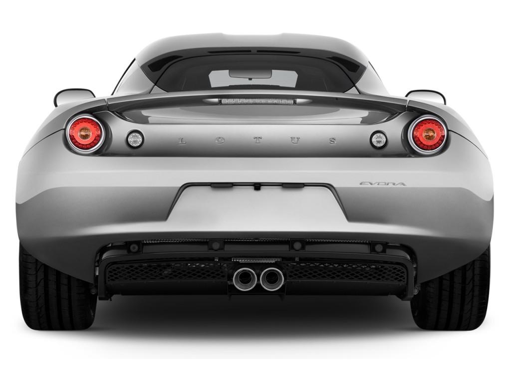Image 2014 lotus evora 2 door coupe 2 2 rear exterior for Exterior rear house doors