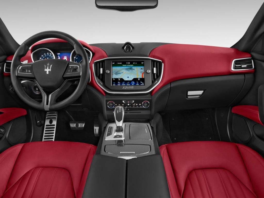 Image: 2014 Maserati Ghibli 4-door Sedan Dashboard, size: 1024 x 768
