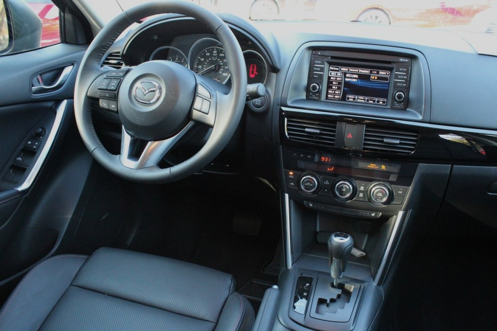 2014 Mazda CX-5 Grand Touring 2.5  -  First Drive, February 2013