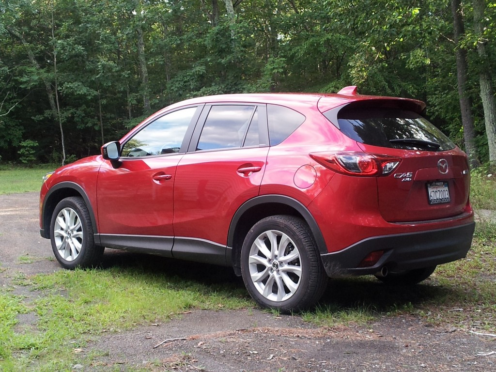2014 Mazda CX-5 Grand Touring AWD, Catskill Mountains, NY, Aug 2013