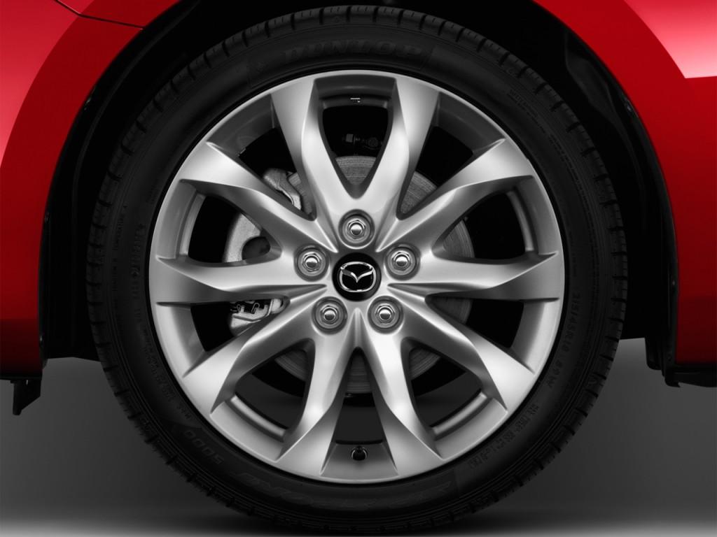 Image: 2014 Mazda MAZDA3 5dr HB Auto i Grand Touring Wheel ... 2014 Mazda 3 Wheel Size