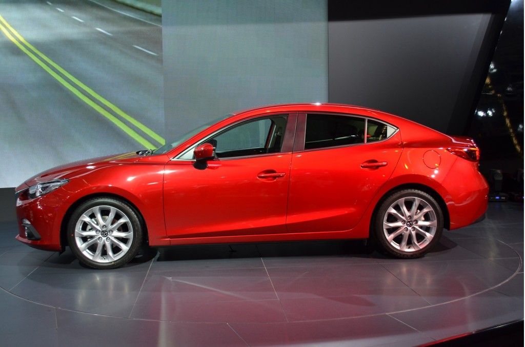 Image: 2014 Mazda 3 four-door sedan, 2013 Frankfurt Auto ...