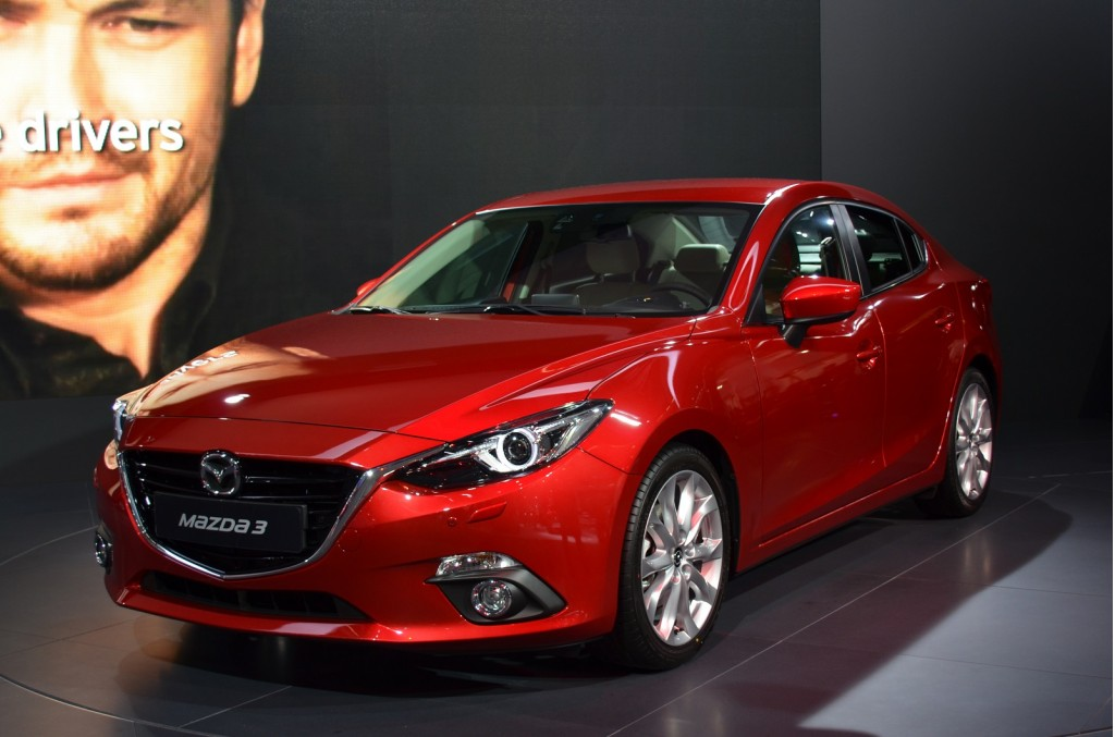Image: 2014 Mazda 3 four-door sedan, 2013 Frankfurt Auto ...