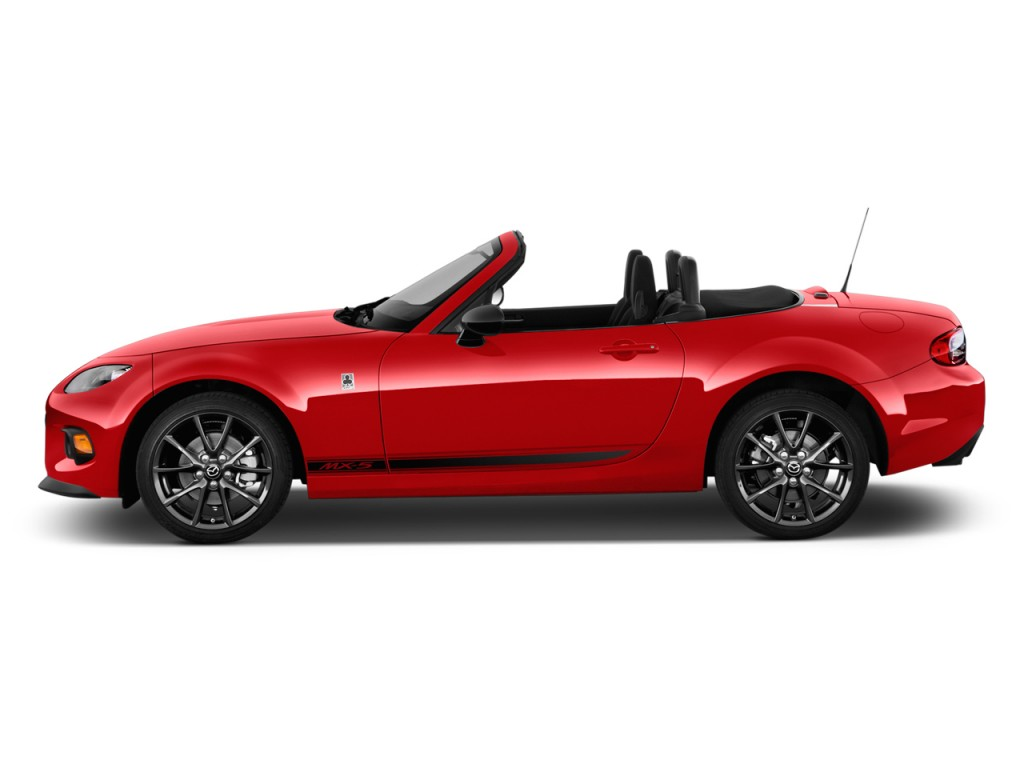 2014 Mazda MX 5 Miata 2 Door Convertible Auto Club Side Exterior View