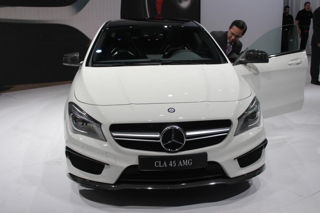 2014 Mercedes-Benz CLA45 AMG, 2013 New York Auto Show