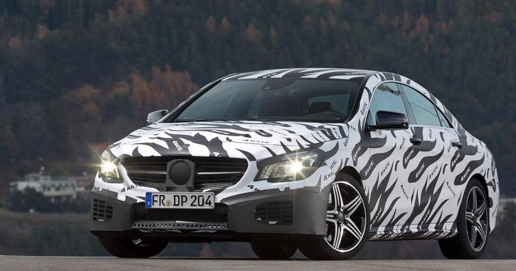 2014 Mercedes-Benz CLA45 AMG teasers