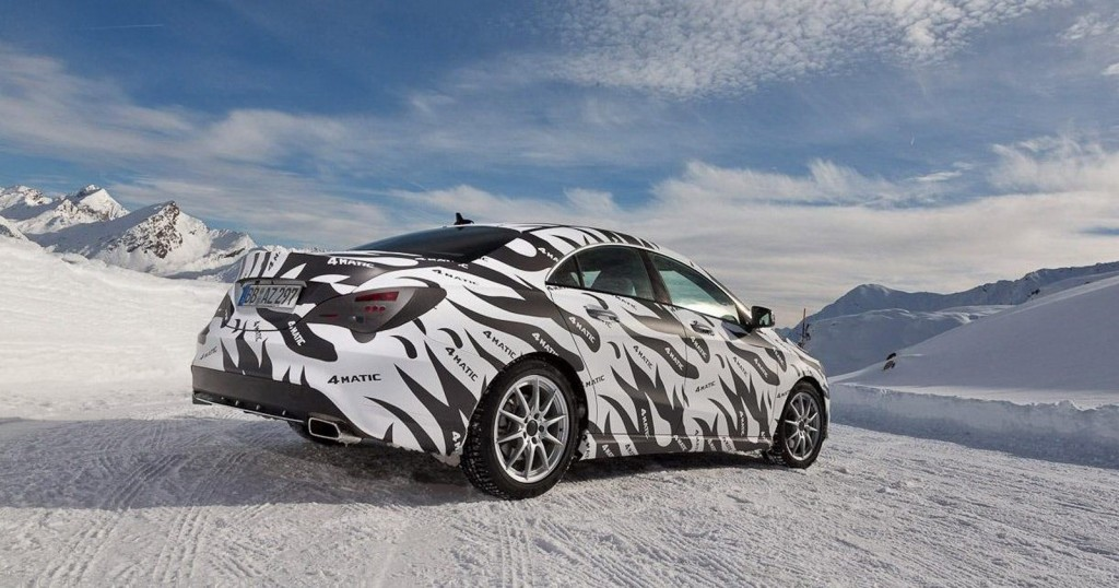 2014 Mercedes-Benz CLA45 AMG teasers