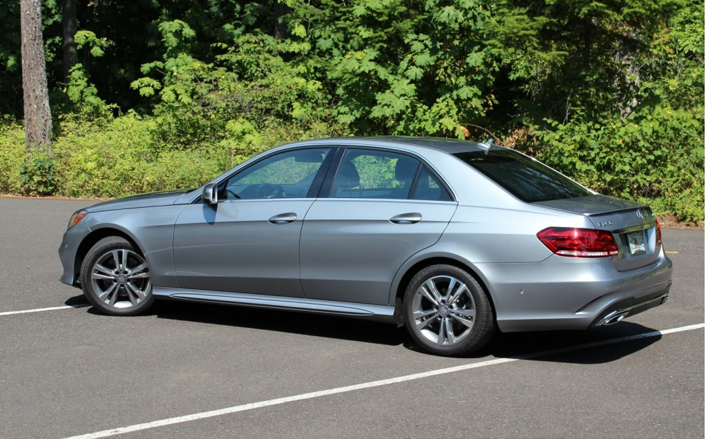 Image 2014 Mercedes Benz E250 Bluetec First Drive