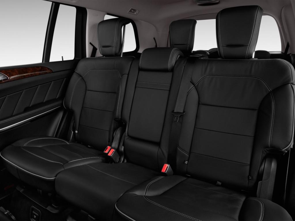 2014 Mercedes Benz GL Class 4MATIC 4 Door GL450 Rear Seats