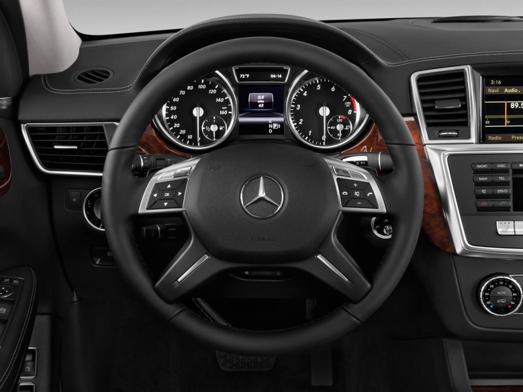 Image 2014 Mercedes Benz Gl Class 4matic 4 Door Gl450 Steering Wheel Size 1024 X 768 Type