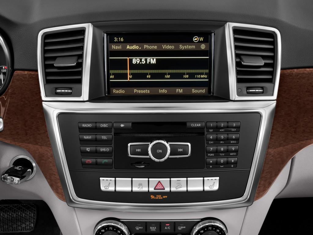 Image 2014 mercedes benz m class rwd 4 door ml350 audio for Mercedes benz music system
