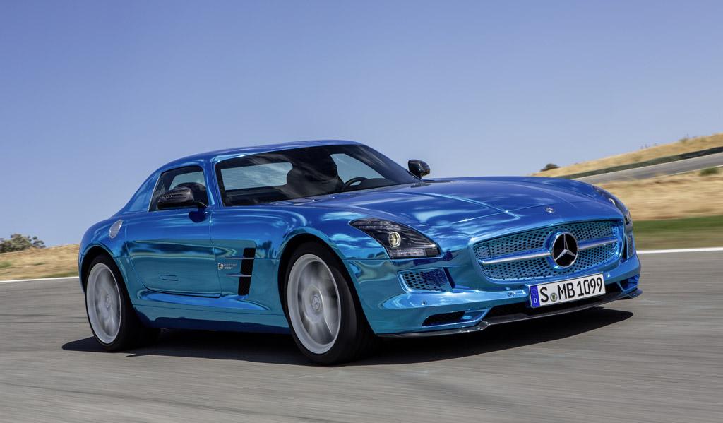 mclaren p1, jaguar f-type, mercedes sls amg electric drive: top