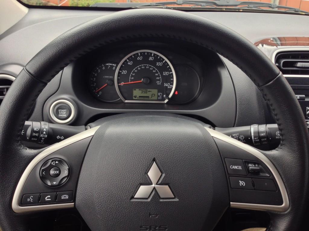2014 Mitsubishi Mirage ES  -  Driven, April 2014