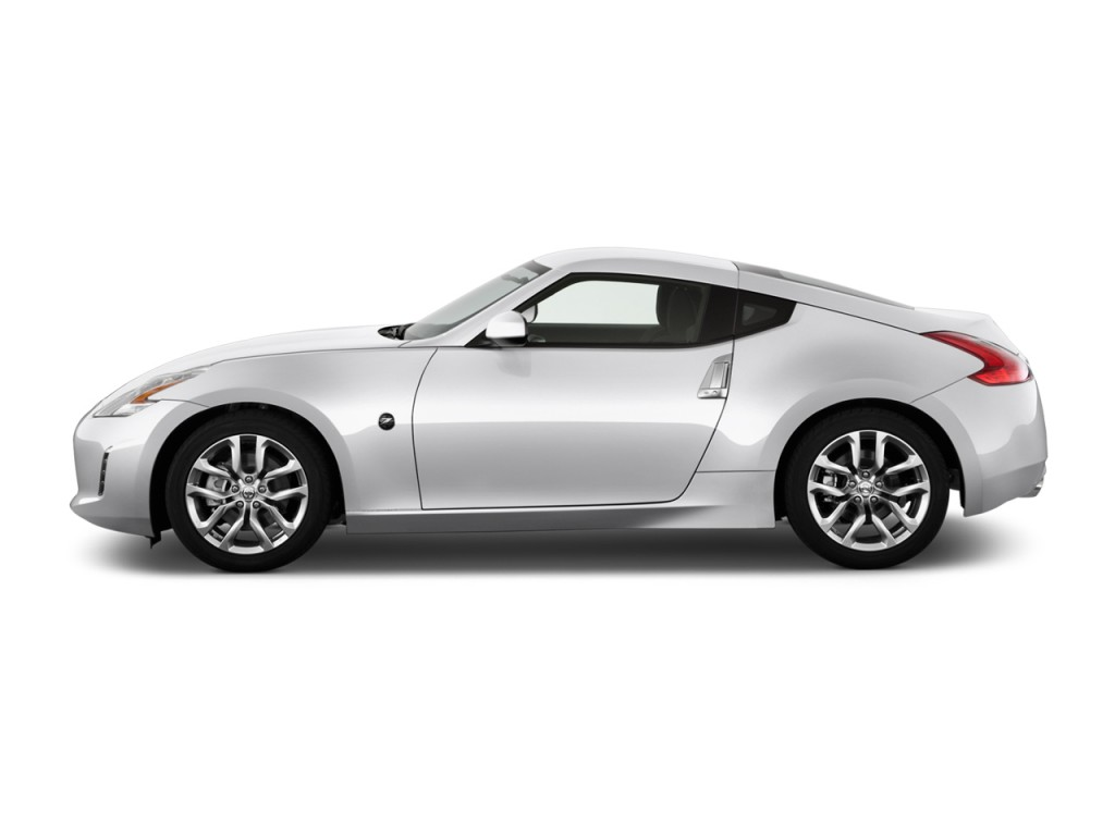 Image: 2014 Nissan 370Z 2-door Coupe Auto Side Exterior View, size ...