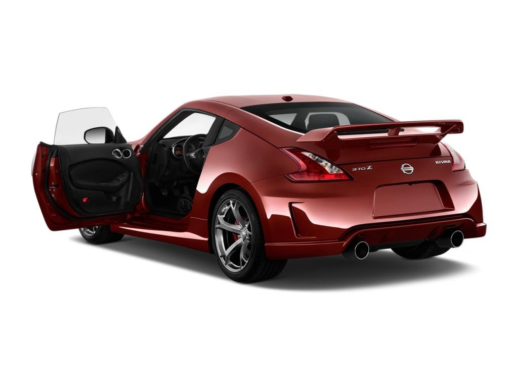 2014 Nissan 370Z 2 Door Coupe Manual NISMO Open Doors