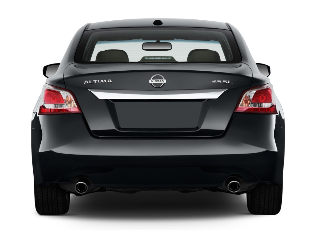 Image 2014 Nissan Altima 4 Door Sedan I4 2 5 Sl Rear