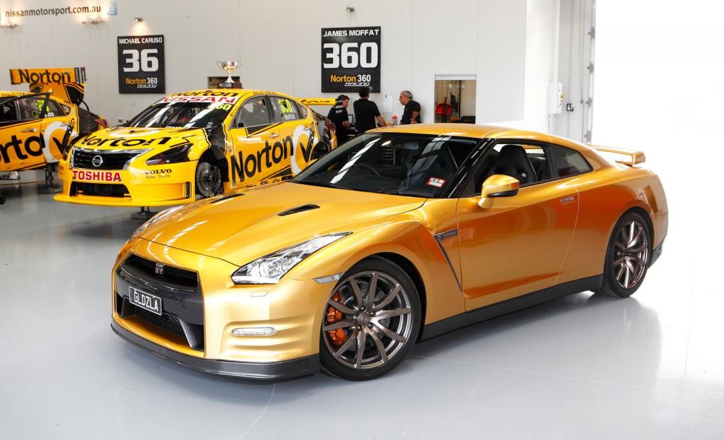2014 Nissan GT-R 'Bolt Gold' edition
