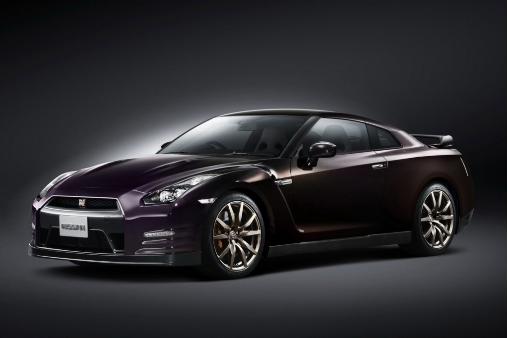 Nissan GT-R Midnight Opal Edition Limited To 100 Units Worldwide