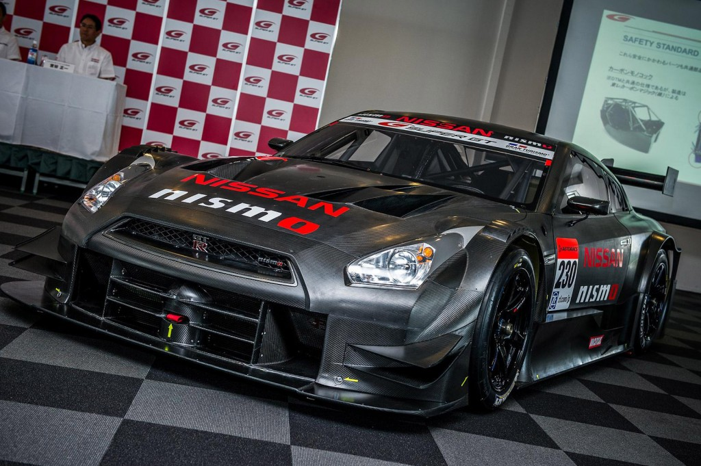 Nissan Gt R Nismo Super Gt Race Car Revealed