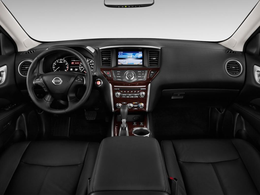 Image 2014 Nissan Pathfinder 2wd 4 Door Sl Dashboard