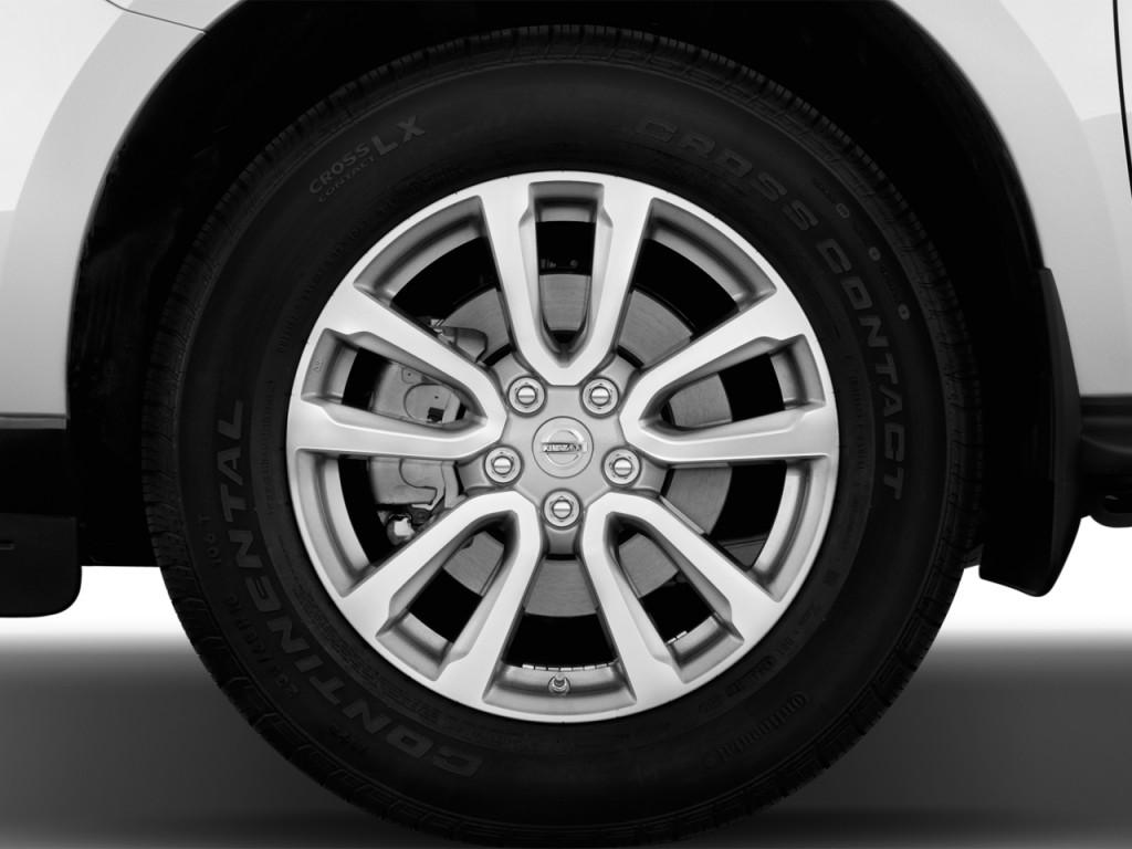 Image 2014 Nissan Pathfinder 2wd 4 Door Sl Wheel Cap