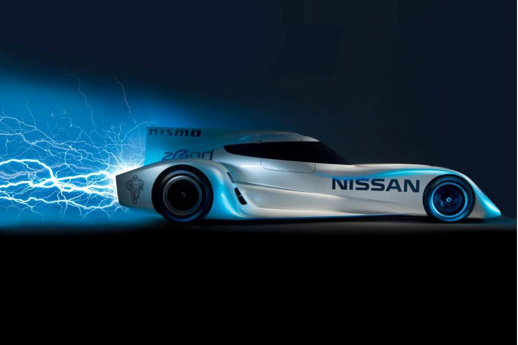 2014 Nissan ZEOD RC Le Mans Garage 56 electric race car
