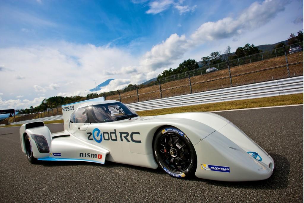 Top Gear Drives Nissans Wacky Zeod Rc Le Mans Racer Video