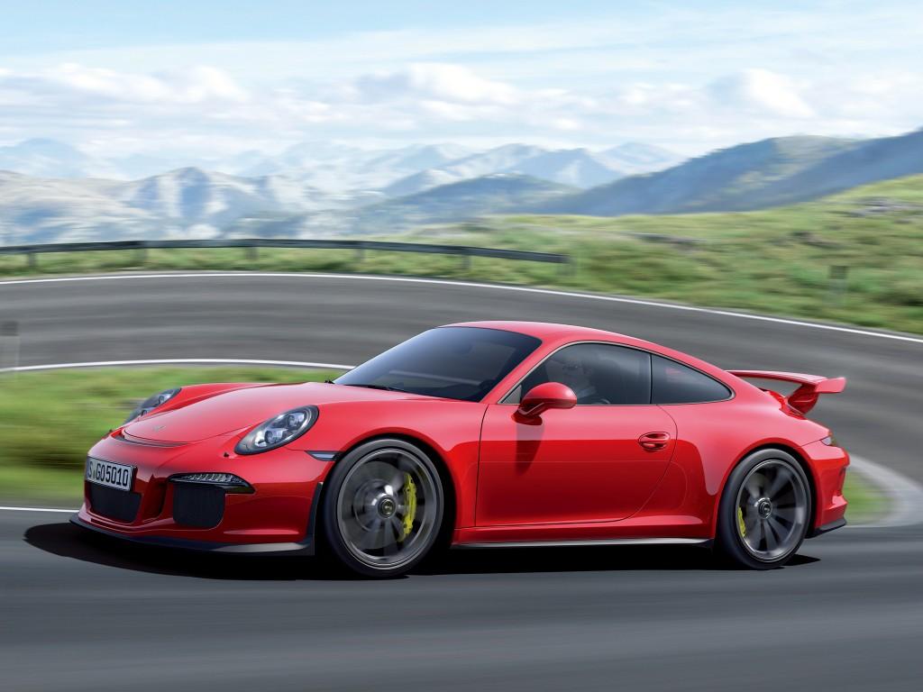 2014 Porsche 911 GT3 leaked images