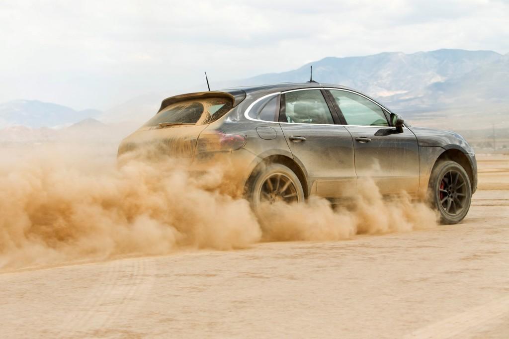 2015 Porsche Macan undergoes final testing