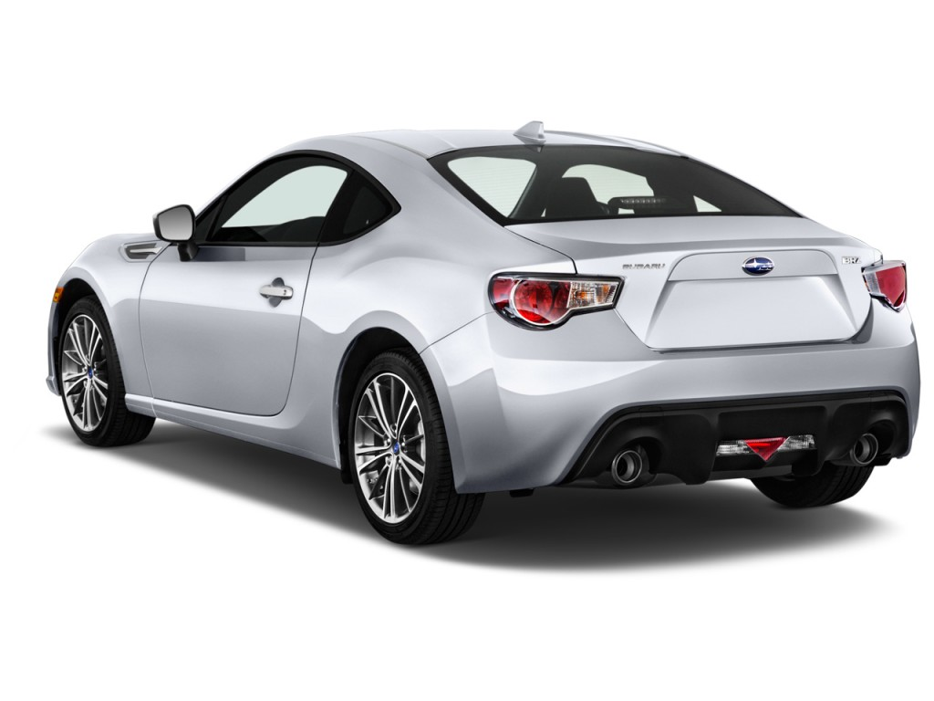 Subaru Tribeca 2016 >> Image: 2014 Subaru BRZ 2-door Coupe Auto Limited Angular Rear Exterior View, size: 1024 x 768 ...