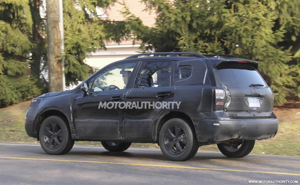 2018 Subaru Forester Spy Photos