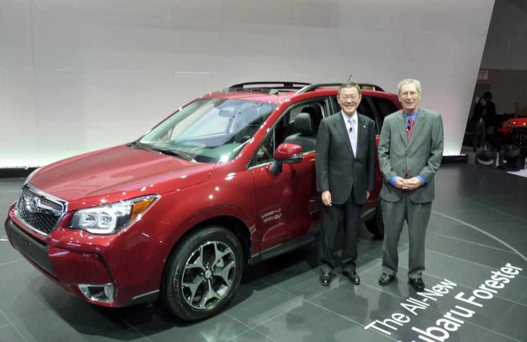 2014 Subaru Forester  -  2012 Los Angeles Auto Show
