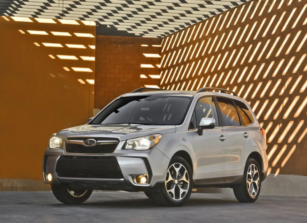 2014 Subaru Forester Aces IIHS Crash Test