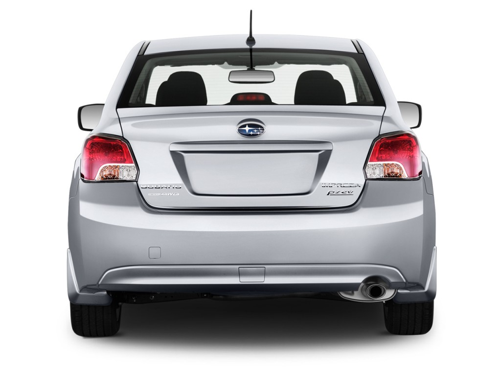 Image 2014 subaru impreza 4 door auto rear exterior for Rear exterior door
