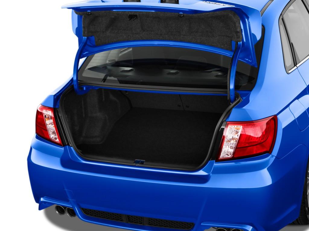 2014 Subaru Impreza WRX   STI 4 Door Man WRX Trunk