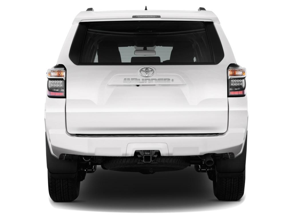 Image: 2014 Toyota 4Runner RWD 4-door V6 SR5 (Natl) Rear ...