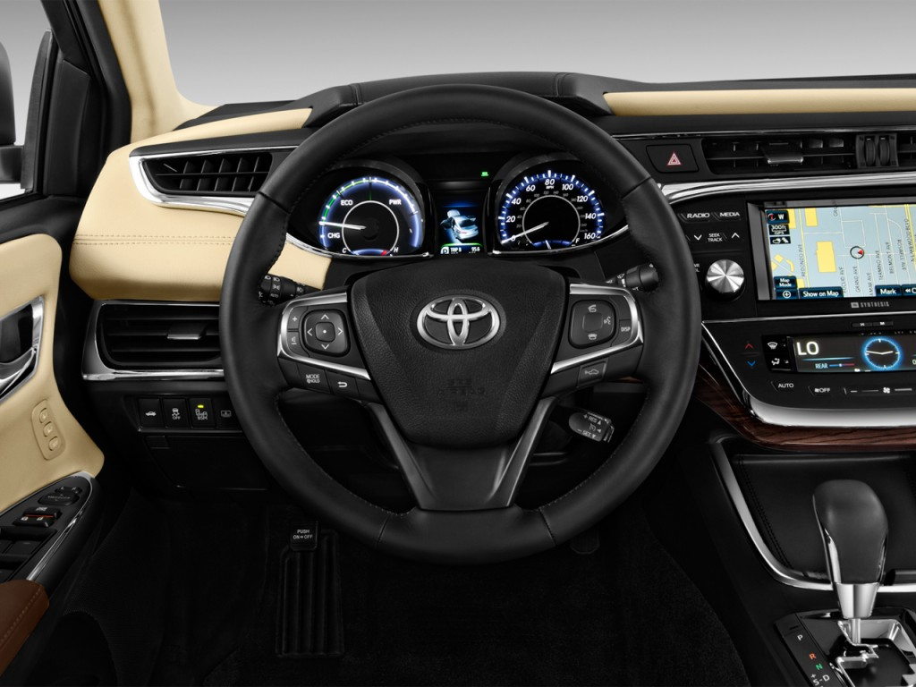 image 2014 toyota avalon hybrid 4 door sedan limited natl steering wheel size 1024 x 768. Black Bedroom Furniture Sets. Home Design Ideas