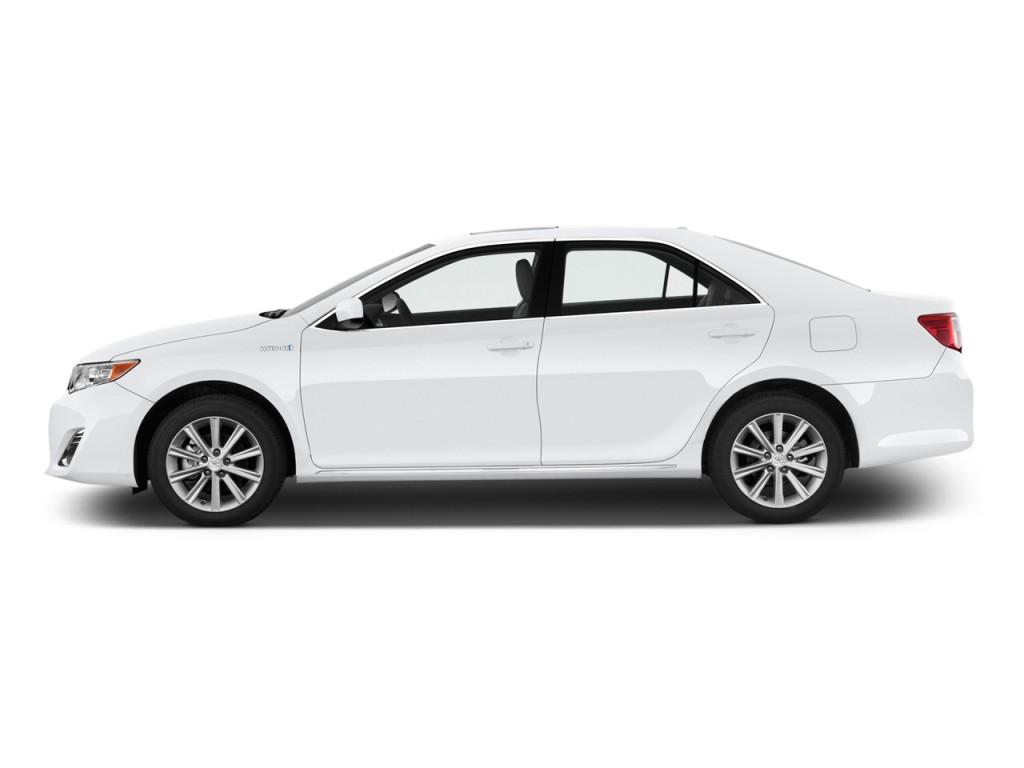 image 2014 toyota camry hybrid 4 door sedan xle natl side exterior view size 1024 x 768. Black Bedroom Furniture Sets. Home Design Ideas